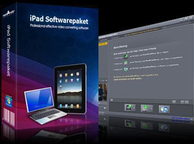 Screenshot vom Programm: mediAvatar iPad Softwarepaket